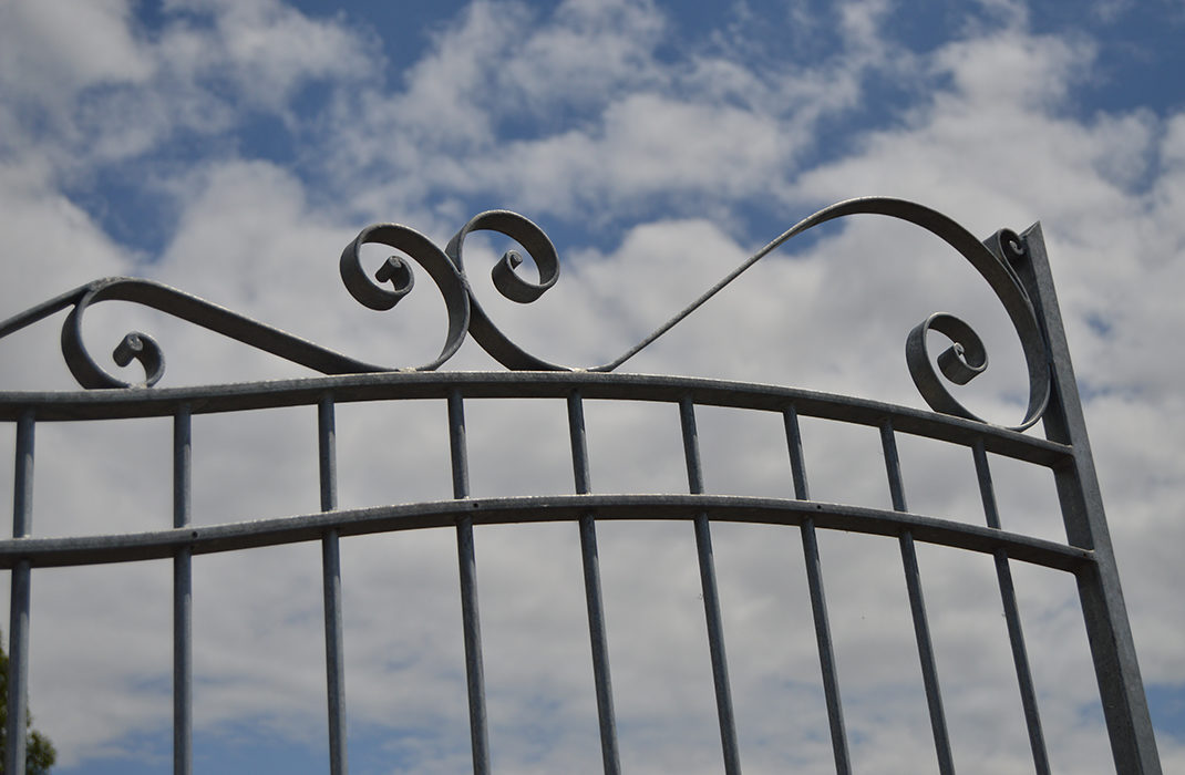L'atlier forge de l'Esat Essor fabrique des portails