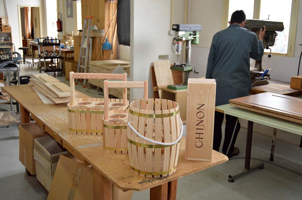 Emballages en bois pour le vin