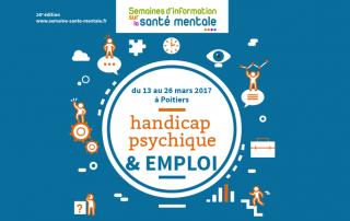 SISM 2017 à Poitiers : handicap psychique et emploi