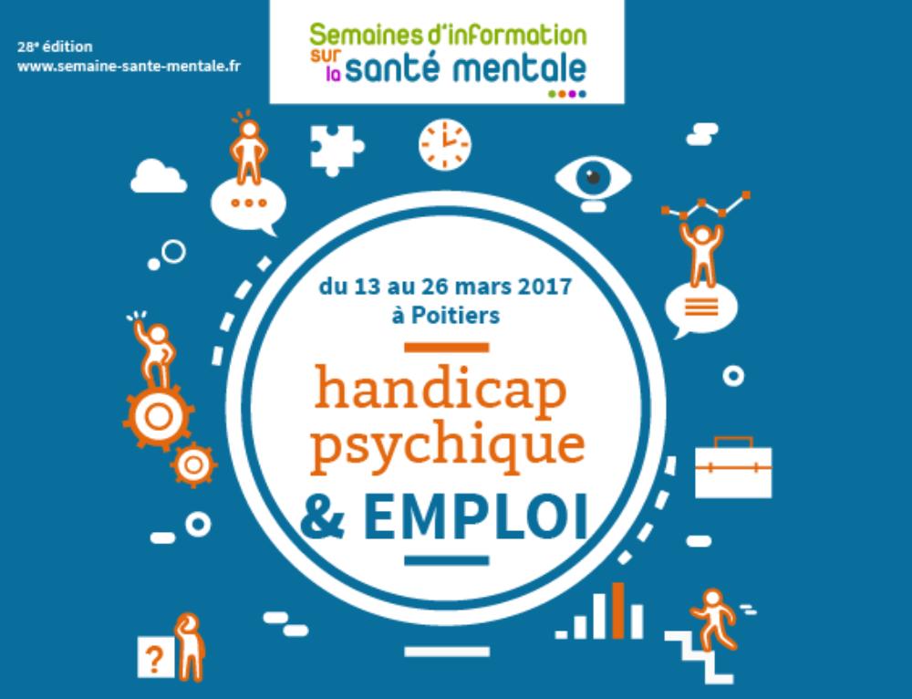 Handicap psychique et emploi au programme des SISM poitevines en 2017