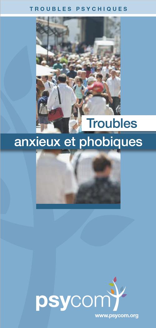 Brochure Psycom les troubles anxieux et phobiques