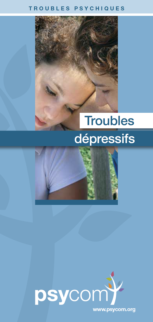 Brochure Psycom les troubles depressifs
