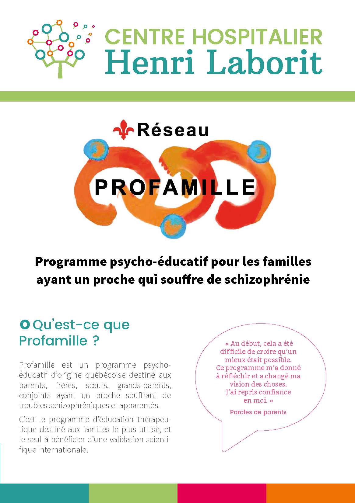 Plaquette Profamille Poitiers