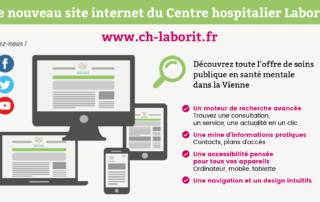 Nouveau site du CH Laborit