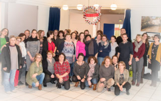 MAS à Vouillé durant Noël 2017 - photo de groupe