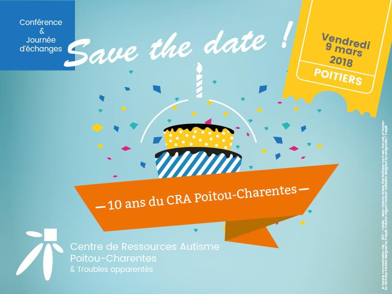 Save the date pour les 10 ans du CRA