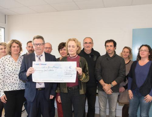 La Fondation du Crédit Mutuel fait don de 6000 € à l'hôpital Laborit