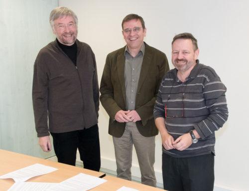 Signature de la convention générale de partenariat entre le CH Laborit, l'UNAFAM et la Mutualité Française de la Vienne SSAM