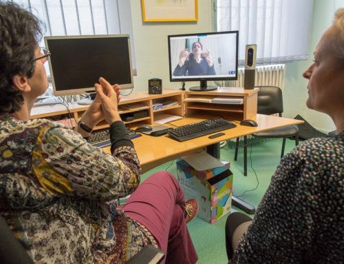 Télémédecine en langue des signes au CH Laborit : une première nationale !