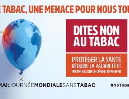 Journée mondiale sans tabac au CH Laborit le 31 mai