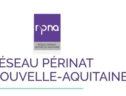 Nouveau site internet du Réseau Périnat Nouvelle-Aquitaine