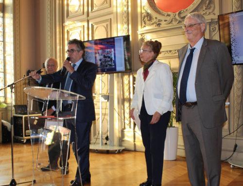 Médaille d'or du Rayonnement culturel remise au Dr Gérard Simmat