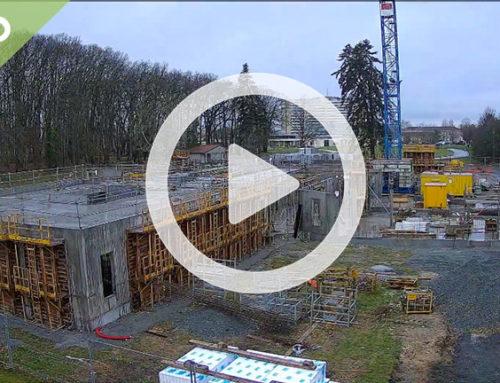 Les travaux du nouveau CESAM en 2′ : time lapse du chantier
