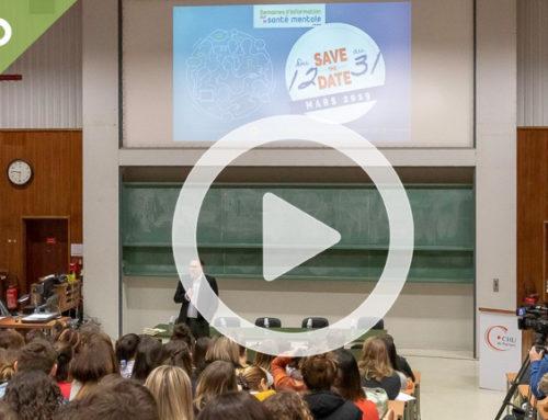 SISM 2019 – Santé mentale et postures professionnelles – Pr Ludovic GICQUEL