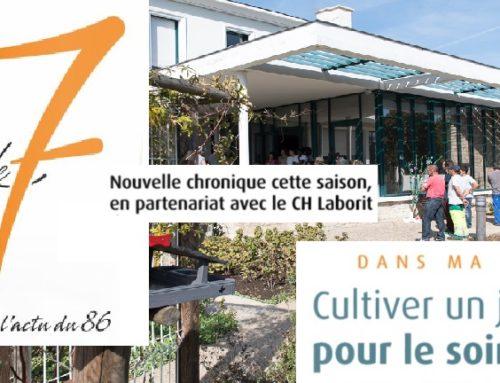 Le jardin thérapeutique du pavillon Cousin dans la chronique psy du 7 à Poitiers