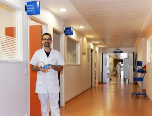 Maxime Dupuis – infirmier à l'UAMP collabore à la rédaction d'un ouvrage pour les infirmiers en psychiatrie