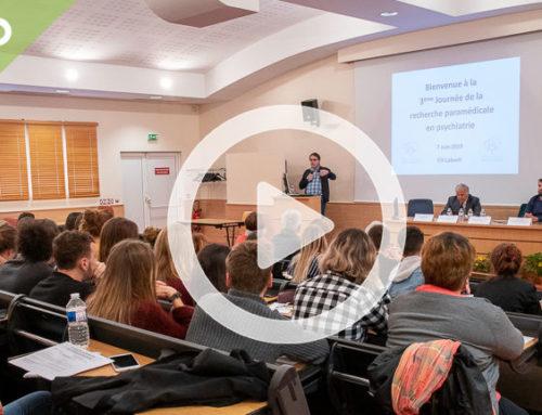Vidéo – 3ème journée de recherche paramédicale en psychiatrie