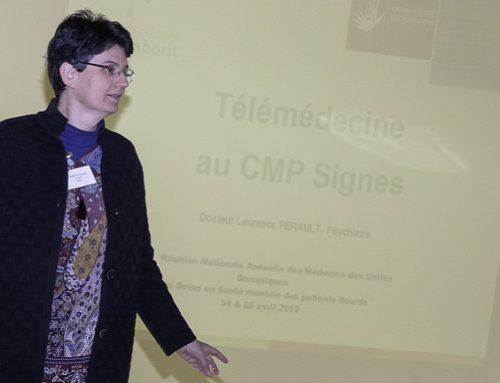 Présentation du CMP Signes par le Dr Perault au Conseil Territorial de Santé de l'ARS