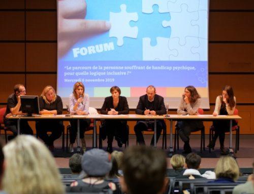 Forum médico-social «Le parcours de la personne souffrant de handicap psychique, pour quelle logique inclusive ?»