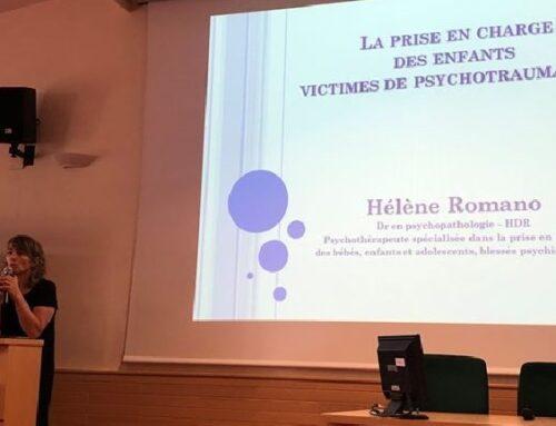 Conférence d'Hélène Romano «Conséquences médico-psychologiques des maltraitances dans l'enfance»