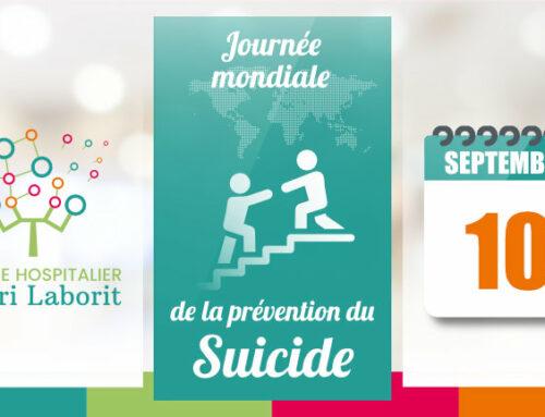 Journée mondiale de la Prévention du suicide – Les équipes du Dr Chavagnat du CH Laborit mobilisées
