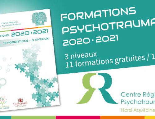 Catalogue de Formation 2020-2021 du Centre Régional Psychotraumatisme Nord-Aquitaine