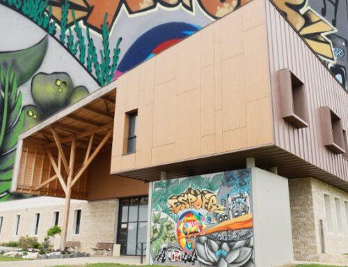 [Projet Graff] Les patients font le mur de la Maison de la Réhabilitation