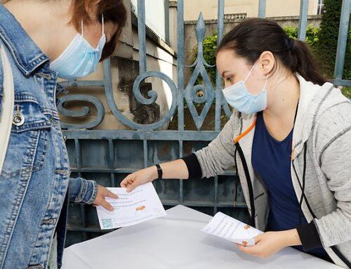 Mobilisation des équipes PRS et d'étudiants de l'IFSI pour la Journée mondiale de prévention du Suicide